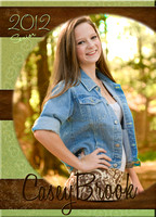 5x7 Senior Announcement Card **Front**